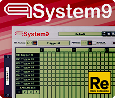 System 9 Multiple Patttern Sequencer
